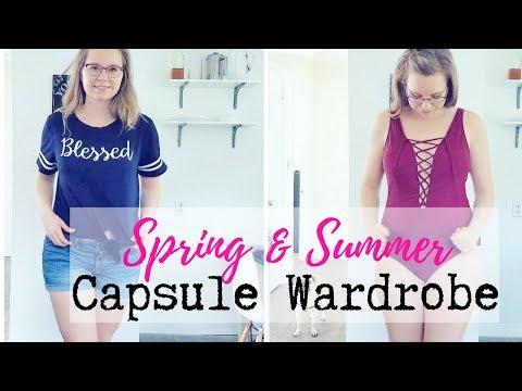 Spring & Summer Capsule Wardrobe 2018 | TRY ON | My Minimalist Wardrobe
