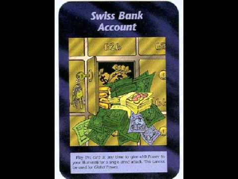 Illuminati Card #132 - Swiss Bank Account