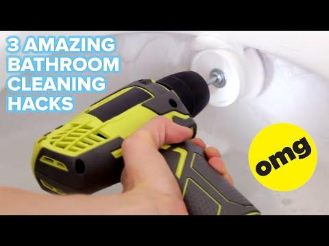 3 Best Bathroom Cleaning Tricks