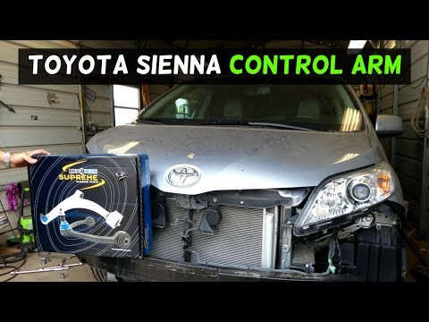 Toyota Sienna Front Control Arm Replacement Removal