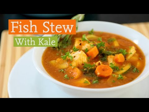 Fish Stew With Kale