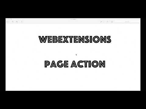 pageAction - Firefox WebExtensions API