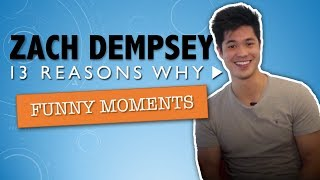 Zach Dempsey (Ross Butler) | 13 Reasons Why Funny/Cute Moments