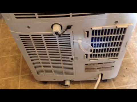 How to fix Portable LG 8,000 btu AC not blowing cold air LP0817WSR