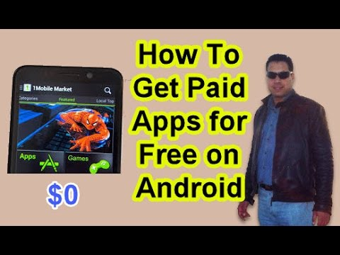 How to get paid apps for free on Android (1Mobile Market)