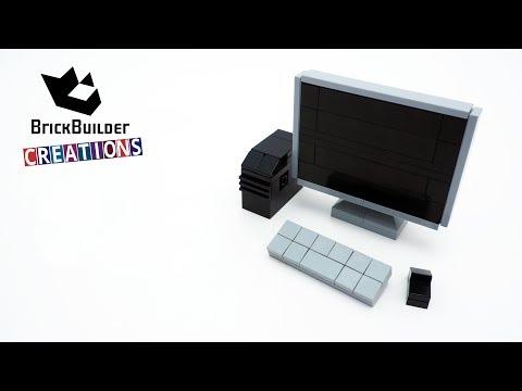 LEGO MOC COMPUTER | 61pcs | Brick Builder Creations