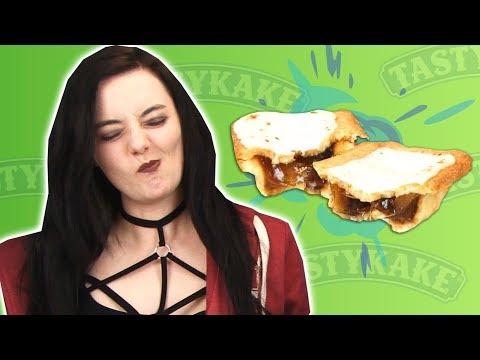 Irish People Taste Test Baked American Pies