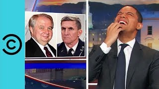 The Daily Show | General Flynn Gets The Boot
