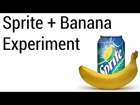 Sprite and Banana Experiment