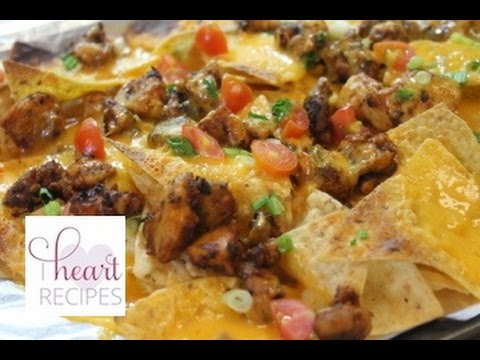 Easy Chicken Nachos Recipe - I Heart Recipes What's For Dinner?: