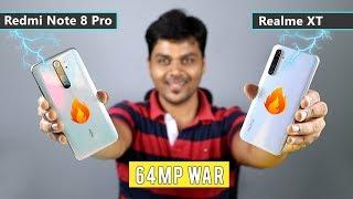 (தமிழ்) Redmi Note 8 Pro VS Realme XT - 64mp Camera King ?