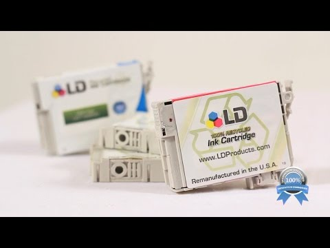 LD Products High Quality Replacement for Epson T125 Ink