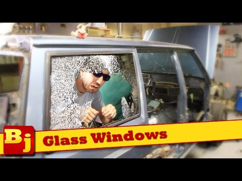 How To Remove/Install Auto Window Glass