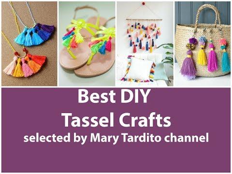 Best DIY Tassel Crafts Ideas