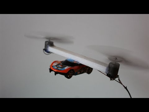 How To Make a Helicopter Car