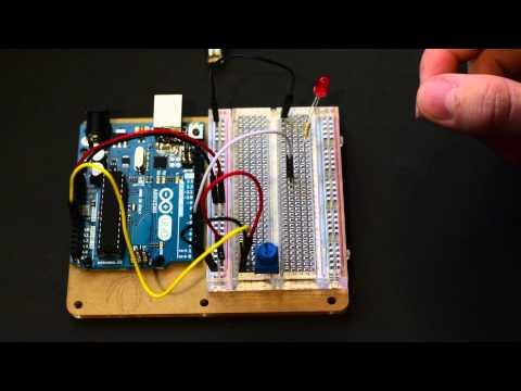 Arduino - Use Potentiometer To Control LED Brightness