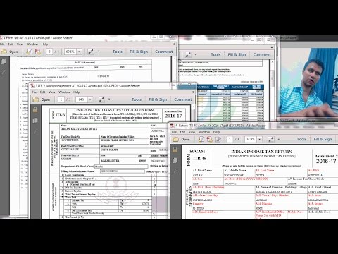 HOW TO FILE INCOME TAX RETURN ONLINE | AY 2016 17 | MY OWN TAX RETURN FILED LIVE!