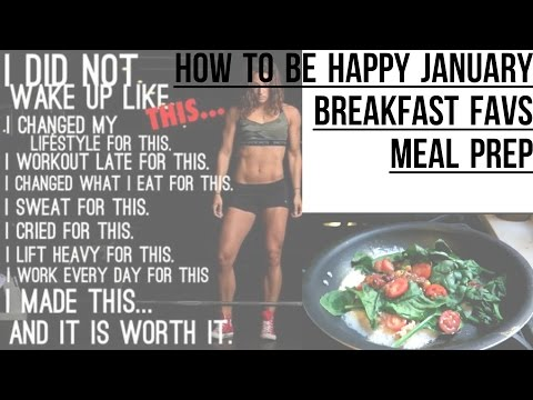 Morning Routine: Boost Your Mood, Healthy Breakfast, Meal Prep Idea