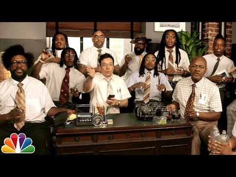 Jimmy Fallon, Migos & The Roots Sing