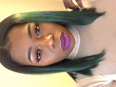 Beauty Supply Store Hair?!?!💚💙!   Model Model Hair Review