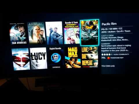 How to redeem 4K HDR Blu-Rays on Vudu Dolby Vision Copies