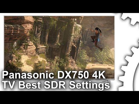 Panasonic DX750 4K TV Best Settings Guide [SDR Gaming]