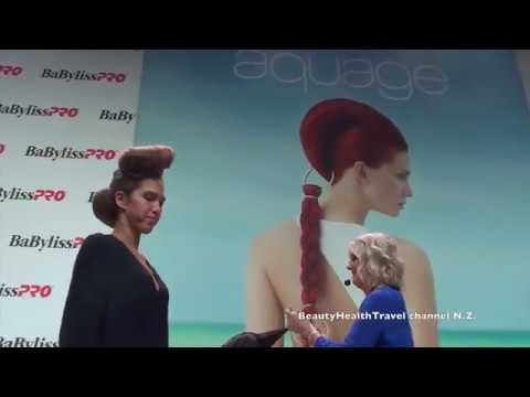 Updo Hairstyle by Nogadar Martinez from Aquage