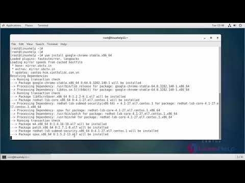 How to Install Google Chrome 63 on CentOS 7