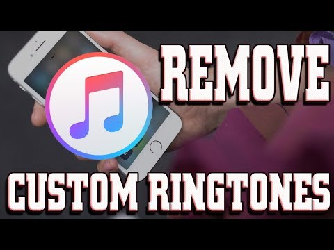 How to Remove a Ringtones with iTunes 12.7.1