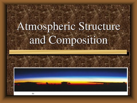 COMPOSITION AND STRUCTURE OF ATMOSPHERE