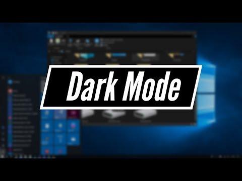 Windows 10 - Enable Dark Mode for File Explorer