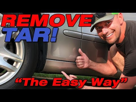 DIY TIP #02: Remove bugs and tar from a car! (Cheap, Simple, Easy)