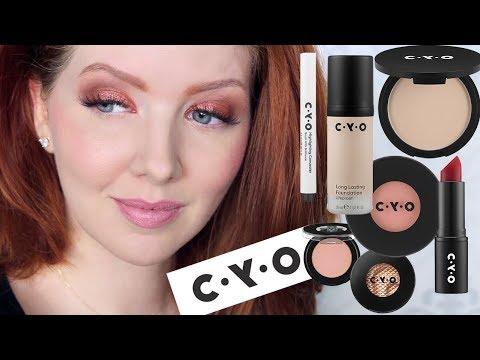 NEW Drugstore Brand | Testing CYO Makeup