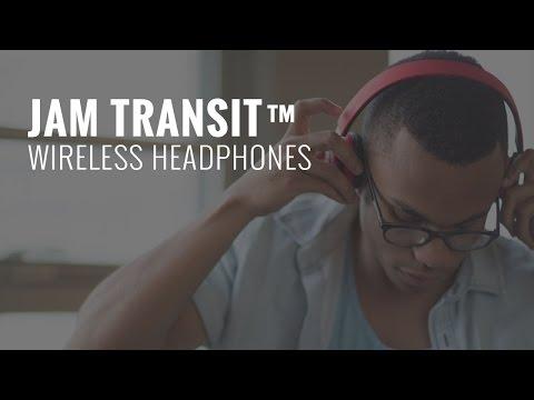 You Move, We Move - Jam Transit Bluetooth Headphones