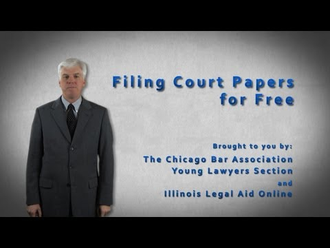 Filing for Free
