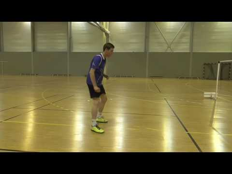Footwork stamina badminton