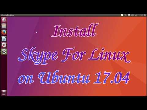 Install Skype For Linux on Ubuntu 17.04