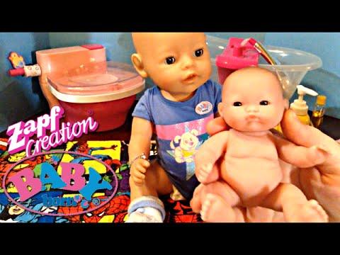 Zapf Creations Baby Born Boy Doll Flynn's DITL with Feeding, Changing, and Bath