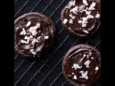 Chocolate Holiday Sables Cookies