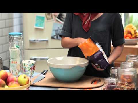 A step by step guide to making bircher muesli
