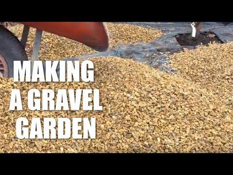How to make a gravel garden