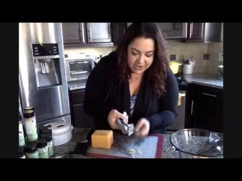 Pampered chef demo: garlic press