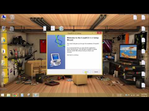 How to install windows 7/8/8.1 using Hard Drive