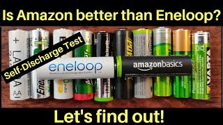 Download Is Amazon better than Eneloop's AA Rechargeable NiMH Battery? Let's find out! Video