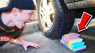 CRUSHING SATISFYING THINGS BY CAR! CRUNCHY, SOFT, SQUISHY!