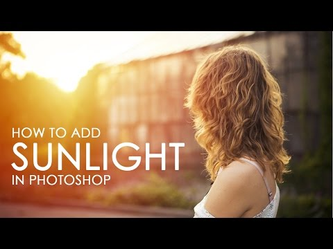 How to Add Sunlight to Photos in Photoshop