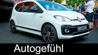 VW up! GTI Premiere REVIEW & Interview Volkswagen CEO - Autogefühl