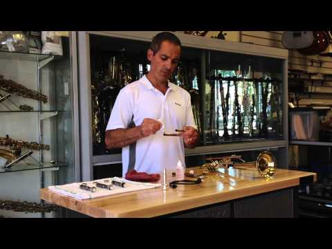 Trumpet Care - How to Clean a Trumpet
