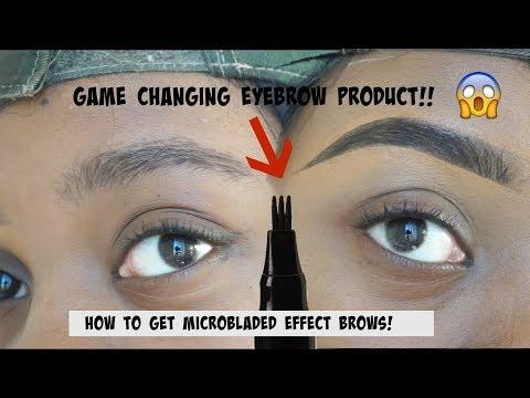 Microblading Eyebrow Product! The BEST Product For Beginners?? | Jamiiiiiiiie