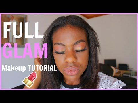 GRWM// Full GLAM Makeup Tutorial 2K16